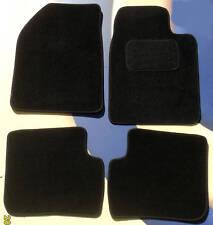 TOYOTA YARIS 3 DOOR BLACK QUALITY CAR FLOOR MATS 1999 - 2006 B