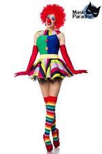 e7a0144fd01f2 Clown Girl Komplettset Clowns Kostüm Harlekin Fasching Karneval Kostümparty