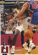 1994-1995 Upper Deck Collector's Choice Card Tyrone Corbin #216 Atlanta Hawks