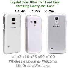 Samsung Galaxy S3 Mini S4 Mini S3 Mini Cristal Claro Delgada Funda Rígida al por mayor