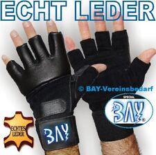 BAY® Cuddly LEDER Sandsackhandschuhe Boxhandschuhe MMA Grappling Krav Maga UFC