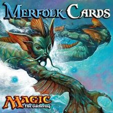 Choose Your Merfolk Cards - Casual / EDH / Cube Mtg - Buy 2 Get 1 Free!
