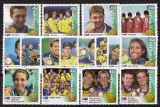 AUSTRALIA 2000 OLYMPIC GAMES WINNERS SET OF 16 FINE USED.