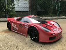 Carrozzeria Body McLaren GTR 1/8 Scale GT2 360mm RC car + alettone