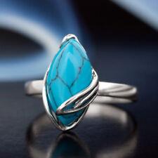 Türkis Silber 925 Ring verschiedene Größen R450