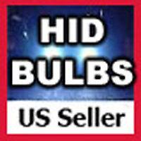 10000K Xenon HID H1/H7/H11/9005/9006 Replacement Bulbs
