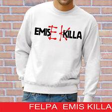 FELPA GIROCOLLO EMIS KILLA BLOCCO RECORDZ RAP RAPPER POP MUSIC