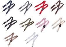 Elastic Suspenders Baby Toddler Kids Boys Girls Children 6 Mo - 5+ Y US Seller