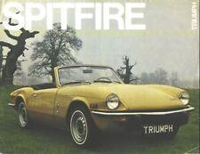 1970s Triumph Spitfire Sales Brochure