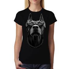 Doberman Face Animals Women T-shirt S-3XL New