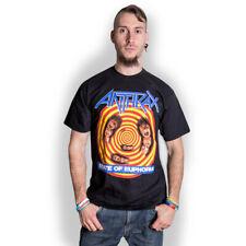 Anthrax State of Euphoria Scott Ian Heavy Metal Official Tee T-Shirt Mens Unisex