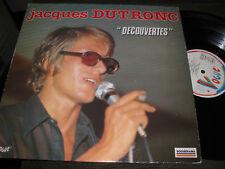 Jacques Dutronc Decouvertes lp serge gainsbourg '84 vogue NM rare psych france