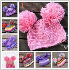 Handmade Crochet Warm Beanie Hat Costume Newborn Baby Girl Boy Kids Photo Prop