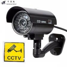Factice Fausse Imitation Caméra Cam LED Sécurité CCTV Intérieur/Extérieur Maison