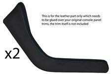 BLUE Stitch accoppiamenti BMW Z3 95-03 2x tagliare pannelli in pelle copre soltanto bisogno di COLLA