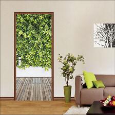 3D Lush Plants 505 Door Wall Mural Photo Wall Sticker Decal Wall AJ WALLPAPER AU