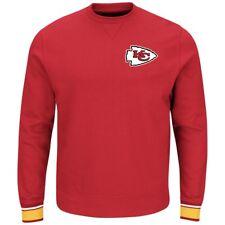NFL Majestic Kansas City Chiefs Men's Red Classic Crew Sweatshirt