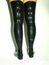 Stiefel flach latex und lack 37 38 39 40 41 42 43 44 45 46 47 48 FS1192