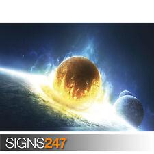 3121 Space Photo Picture Poster Print Art A0 A1 A2 A3 A4 UNIVERSAL GLOW