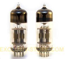 6N6P=ECC99=E182CC Double Triode Tube Little Dot MK III GOLD GRID NOS USSR 10 PCS