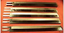 "12 EASTMAN STRAIGHT EDGE CUTTING MACHINE KNIVES 13"""