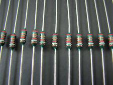 (100) Draloric SMA0207 1/4W 1% Metal Film Resistors 11K Ohm thru 90.9K Ohm