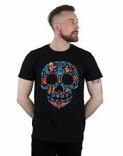 Disney Men's Coco Skull Pattern T-Shirt