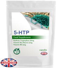 5-HTP (180 cápsulas) la melatonina peleas Depresión Insomnio Ansiedad Serotonina, Reino Unido