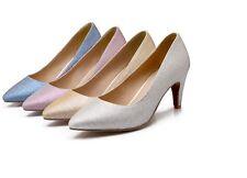 Zapatos Zapatos de salón mujer tacón de aguja 7 cm disp en 4 colores 8430