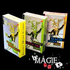 Lot 3 jeux Svengali (Radio) Biseauté (Stripper) Marqué - Magie