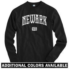 Newark 973 Long Sleeve T-shirt LS - New Jersey Devils EWR Liberty - Men / Youth