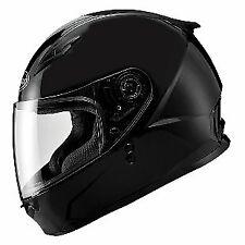 Gmax FF49 Sektor Solid Snowmobile Helmet Black w/ Electric Shield