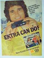 1978 Kodak Ektra Camera Michael Landon Nice Magazine Print Advertisement Page