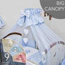 Crown Bébé Canopy / drapé / moustiquaire seulement / grand 480 cm pour lit bébé lit bébé COEUR