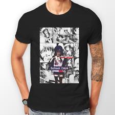 Giorni di scuola kotonoha Katsura MANGA ANIME Striscia T-shirt T-shirt Tee Tutte le Taglie