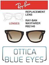 Lenti di Ricambio RAYBAN WAYFARER RB2140 filtri Replacement Lenses 51 brown grad