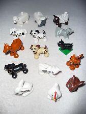 LEGO DUPLO Tiere für Bauernhof aussuchen - Katze Hund Huhn Ziege Hase Schaf Ente