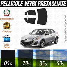Mazda 3 Berlina dal 2010 ad OGGI Pellicole Oscuramento Vetri Auto Pre Tagliate a