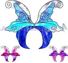 TRANSPARENT FAIRY WINGS #3 UNCUT PACK (12) craft suncatcher scrapbooking fairies