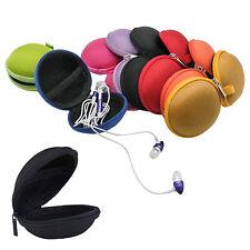 Portable Mini Earphone Headphone SD TF Card Storage Holder Pouch Bag Case LOT