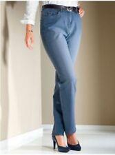 Damen Hose Stretchhose Jeans Jeanshose Kurzgröße GR 22 25 26 27 28 29 30 31 NEU