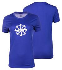 Womens Nike Sports Running T Shirt Ladies Dri-Fit Top Tee Gym Run Training New L