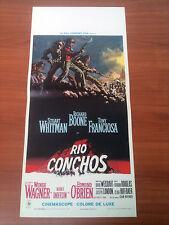 RIO CONCHOS locandina poster Douglas Western WHITMAN BOONE FRANCIOSA1964 AJ1