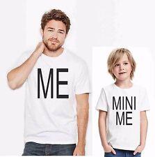 KIT DUE MAGLIETTE - PADRE E FIGLIO ME AND MINI ME