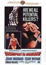 Signpost To Murder,New DVD, Carol Veazie, Stuart Whitman, Edward Mulhare, Alan N
