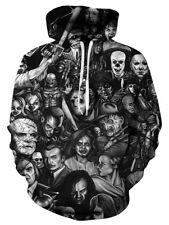 Men/Women Horror Movie 3D Print Casual Sweatshirt Hoodies Pullover Hoody sweater
