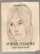 POESIE D'AMORE di Franco Fano - copia numerata