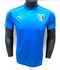 PUMA prima maglia ufficiale ITALIA art.748933-01 col.AZZURRO EUROPEO 2016