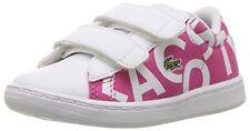 Lacoste 7-33SPI1000-F50 : Girls' Carnaby Evo 117 1 Spi Toddler Shoe Pink/White