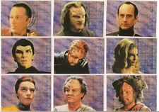 Star Trek Voyager Season 1 Series 2 Trading Cards Xenobio Sketches Set S1-S9